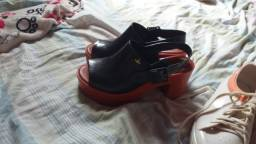Melisa sandália e tênis