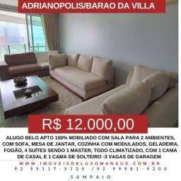 (Sampaio) (A.L.U.G.A) Apto. no Barão, R$ 12.000,00