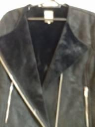 Título do anúncio: Jaqueta de couro Zara