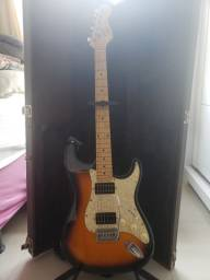 Guitarra  e amplificador fender