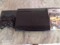 Vendo PS3 em ótimas condições. Leia a descrição!