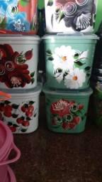 Vendo vasilhas plásticas atacado e varejo
