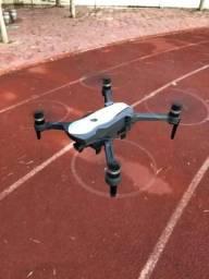 Drone semi profissional k20 - câmera 4k/ bateria 25 min/ voa 1.8km/ função GPS/ Wi-Fi 5g