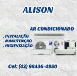 * Instalação e manutenção de ar condicionado *