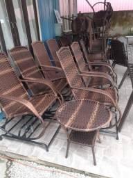 Cadeiras de balanço 4molas.namoradeira
