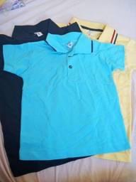 Título do anúncio: Vendo camisas, sungas, bermuda infantis
