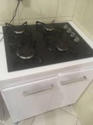 Fogão cooktop semi novo