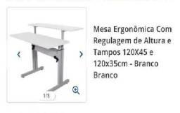Título do anúncio: Mesa Ergonomica com Regulagem de altura - Promoçao