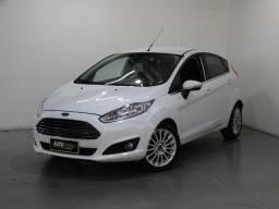 Ford Fiesta Titanium 1.6 Flex Powershift Branco
