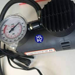 Mini compressor ideal para pneus (ENTRAGA GRÁTIS)