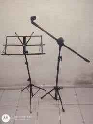 Estante partitura /Pedestal microfone