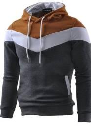 Oferta Imperdivel Blusa Tricolor Grossa lindo modelo com qualidade  e diferenciação
