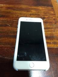 iPhone 8 plus 128gb.  Branco. (completo, caixa , carregador, manual