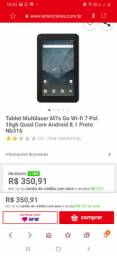 Tablet Multilaser original 16giga