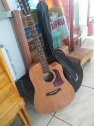 Vendo violão novo elétrico