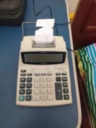 Calculadora eletrônica Elgin com impressão