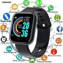 Relógio digital inteligente smartwatch d20