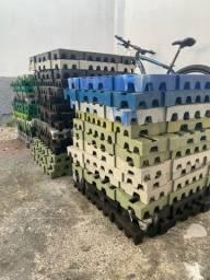 Pallet plastico PL 55 50x50x4,5