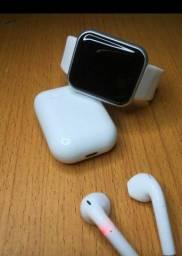Título do anúncio: Kit relógio inteligente Smartwatch D20 ? preto , rosa e branco