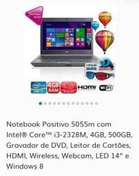 Notebooks para retirada de peças 1 Positivo  Unique e 1 SIM+