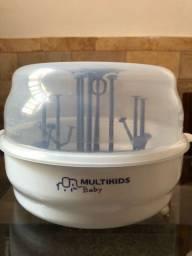 Esterilizador de mamadeiras de microondas