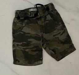 Bermuda jeans 2 anos