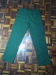 Calça social verde