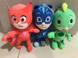 3 bonecos PJMaska
