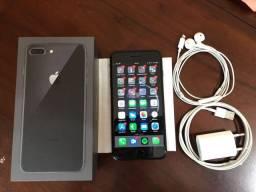 Iphone 8 plus preto 64 Gb