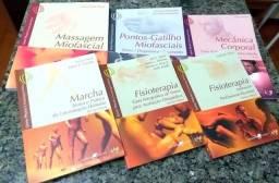 Livros de Fisioterapia novos! Coleção Fhysio da editora LAB (7 livros no total)