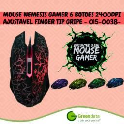 Mouse gamer nemesis 2400dpi 6 botões