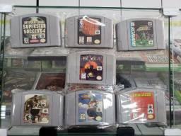 Jogos de NES (Nintendinho) Super Nintendo, Nintendo 64 e GameCube