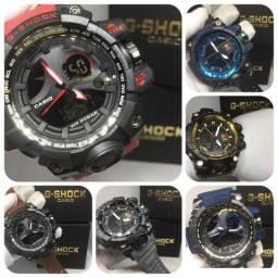 20e79b8def6 Relógio Casio G SHOCK na caixinha resistente à água