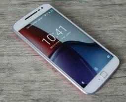 Moto G4 plus 32GB troco por aparelho inferior ou tablet mais volta em dinheiro