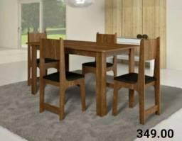 Mesa soneto 4 cadeiras !!! Aproveite >> Entrega imediata
