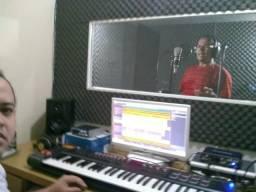 Home studio,R A produções