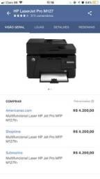 Impressora HP laser jet pro M127