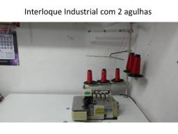 Maquina de Costura Interloque Industrial em perfeito estado