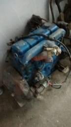 Motor perkins diesel