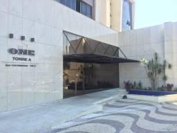 Linda Kitnet Nascente Ampla Vista livre 1 vaga coberta no ONE Residence em Águas Claras