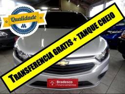 Gm - Chevrolet Prisma 1.4 apenas 9.000 kms com TV digital e câmera de re - 2018