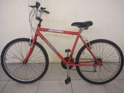 Bicicleta - Aro 26 - Vermelha