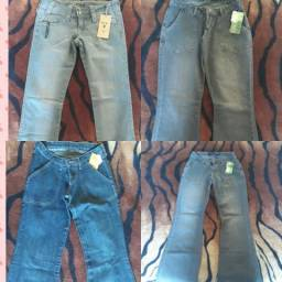 Troco lote de calça jeans feminina por fogão