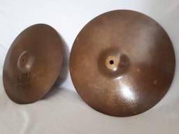 Prato de bateria Hi Hats Sabian B8 13 Só 390