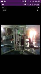 Equipamentos musculação academia