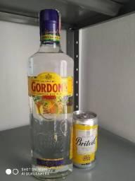 Combo Gin Gordons + água tônica