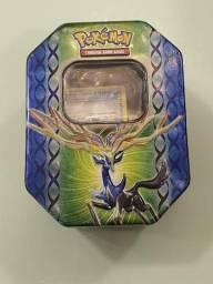Lata Pokémon Xerneas + 100 cartas e uma moeda, usado comprar usado  Cascavel