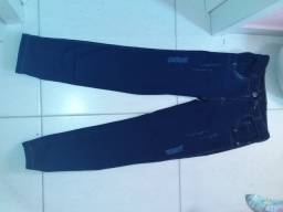 Calsa Jeans laicra azul Numero 30 semi nova