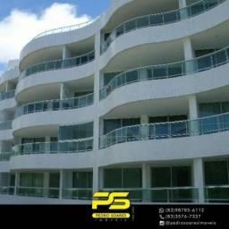Flat com 1 dormitório à venda, 60 m² por R$ 200.000,00 - Carapibus - Conde/PB