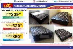 Cama box casal nova a partir de r$239,00 reais